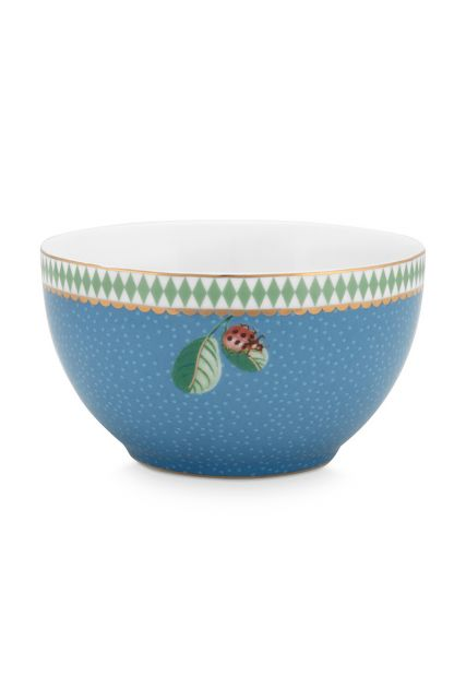 bowl-la-majorelle-made-of-porcelain-with-a-lady-bug-in-blue-9,5-cm