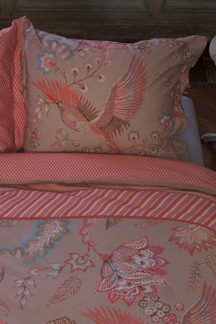 kissenbezug-royal-birds-khaki-blumen-pip-studio-60x70-40x80-baumwolle