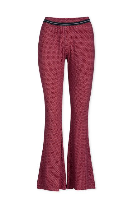 Trousers Long Cross Stitch Red