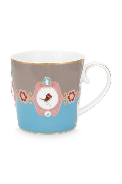 tasse-love-birds-gross-in-blau-und-khaki-mit-vogel