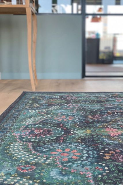 Carpet-bohemian-blue-floral-moon-delight-pip-studio-155x230-200x300
