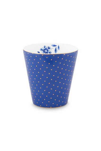 mug-small-without-ear-royal-dots-blue-230-ml-6/48-pip-studio-51.002.239
