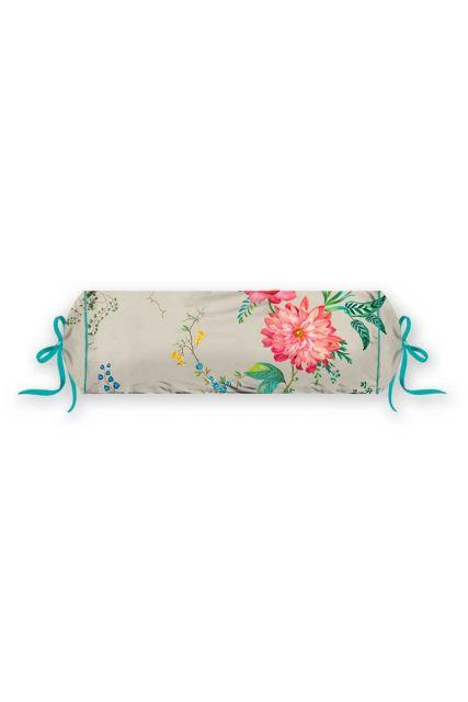 kissen-khaki-blumen-nackenrolle-fleur-grandeur-dekokissen-pip-studio-22x70-baumwolle