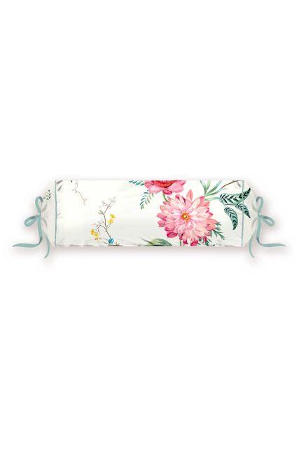 kussen-wit-bloemen-rolkussen-sierkussen-fleur-grandeur-studio-22x70-katoen