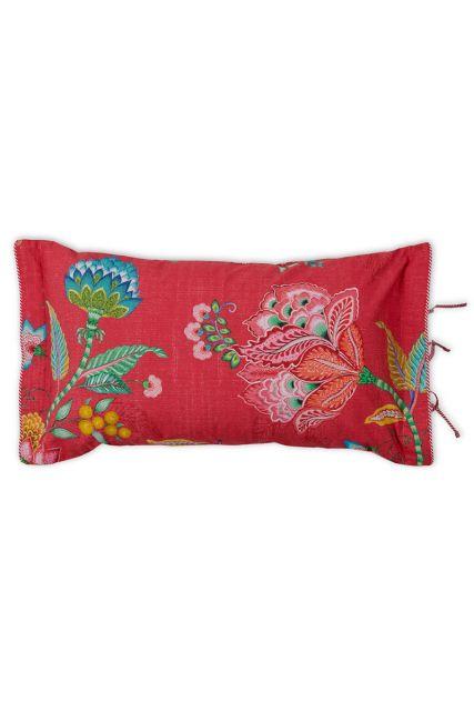 kussen-rood-bloemen-rechthoek-sierkussen-jambo-flower-pip-studio-35x60-katoen