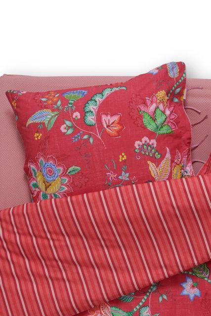 kussensloop-rood-bloemen-kussenhoes-jambo-flower-pip-studio-2-perosonen-60x70-40x80-katoen
