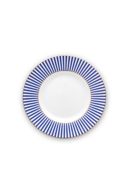 plate-royal-stripes-17-cm-6/48-blue-white-pip-studio-51.001.244