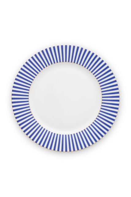 plate-royal-stripes-26.5-cm-6/24-blue-white-pip-studio-51.001.247