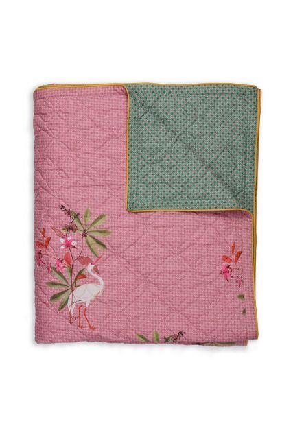 quilt-botanisch-sprei-plaid-roze-my-heron-pip-studio-180x260-200x260-polyester