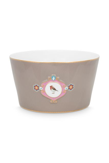 bowl-love-birds-in-khaki-with-bird-20-cm