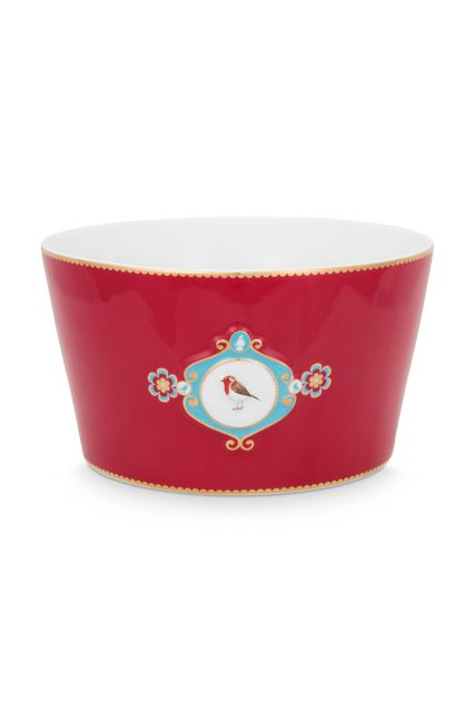 bowl-love-birds-in-red-with-bird-20-cm
