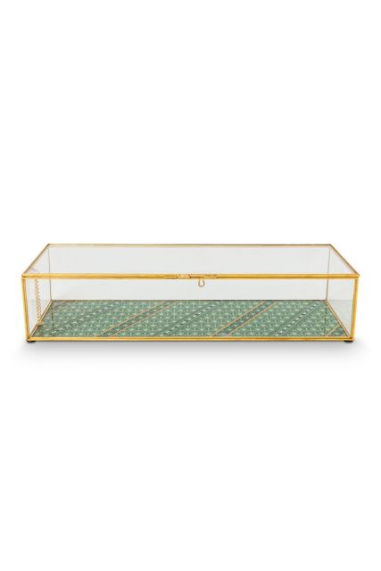 Storage-box-glass-gold-jewelery-box-pip-studio-41x16,5x9-cm