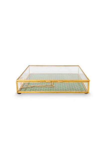 Opberg-doosje-glas-goud-sieraden-kistje-pip-studio-21x21x4-cm