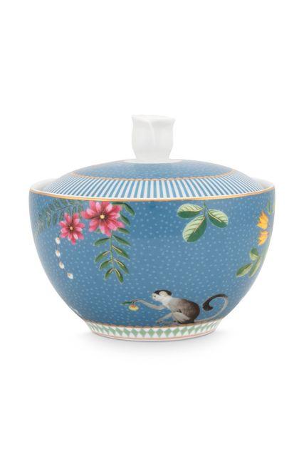 suikerpot-la-majorelle-van-porselein-met-bloemen-in-blauw