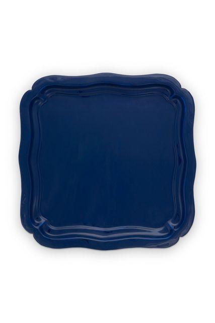 metaal-vierkant-enamelled-donker-blauw-royal-white-pip-studio-40x40-cm