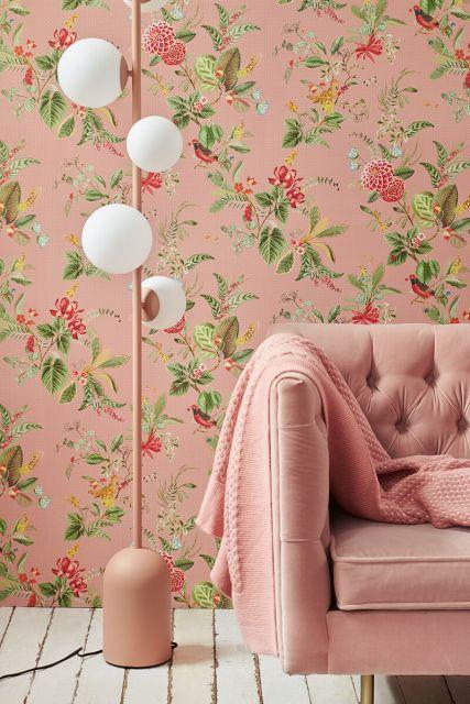 wallpaper-non-woven-vinyl-flowers-pink-pip-studio-floris