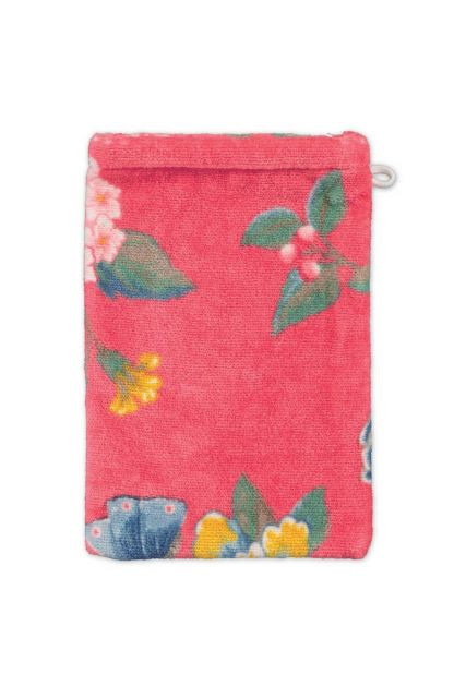 Waschlappen-coral-blumen-16x22-good-evening-pip-studio-baumwolle-velours-frottier