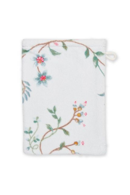 Wash-cloth-white-floral-16x22-les-fleurs-pip-studio-cotton-terry-velour
