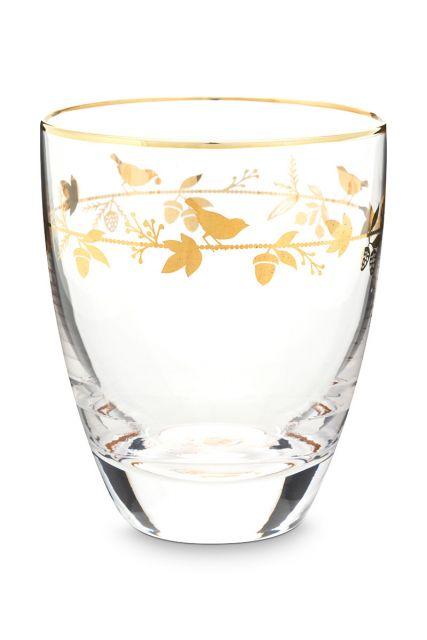 water-glas-winter-wonderland-met-gouden-details