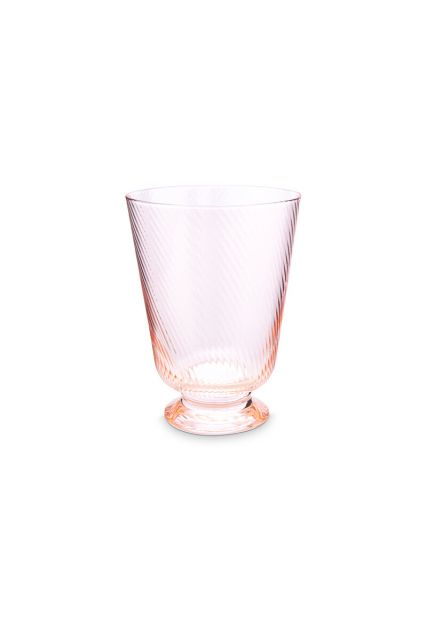 water-glass-twisted-pink-360-ml-6/24-combi-set-pip-studio-51.131.037