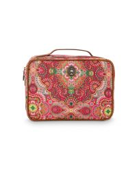 Beauty Case Square Large Moon Delight Red