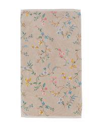 bath-towel-les-fleurs-khaki-bloemen55x100-pip-studio-217806
