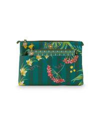 cosmetic-bag-combi-fleur-grandeur-green-26x18x7.5-cm-22x13x1-cm-artificial-leather-1/12-pip-studio-51.274.137