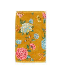 gastendoek-les-fleurs-geel-30x50-pip-studio-217796