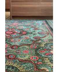 vintage-rectangular-moon-delight-carpets-in-green-with-flower-details