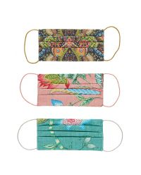 Reusable Face Masks 3-Pack Multicoloured