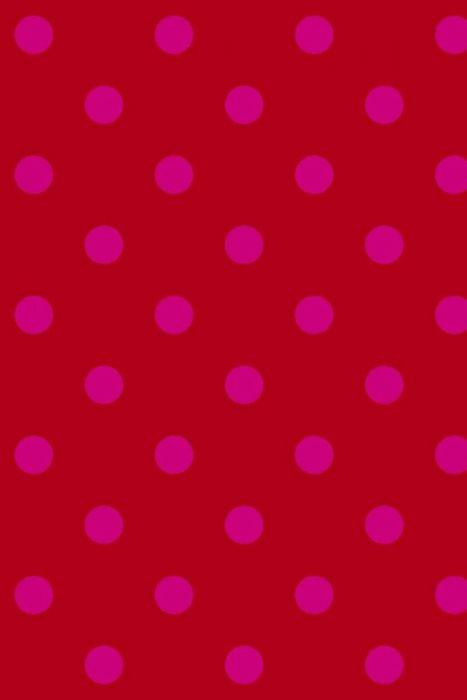 Dots behang rood