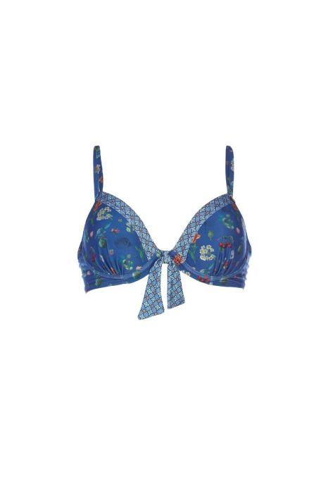 Bikini Top Pearest Pip Moonlight Blue