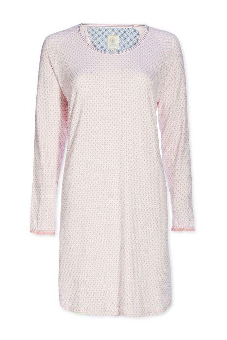Nachthemd U-Ausschnitt Go Nuts rosa