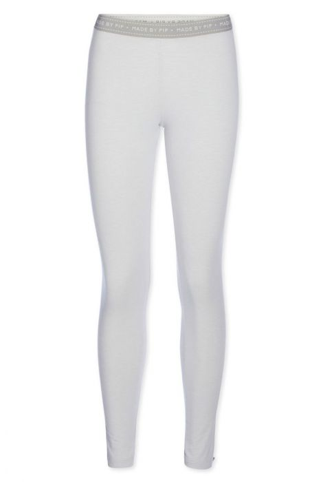 Legging lang Stripers grijs