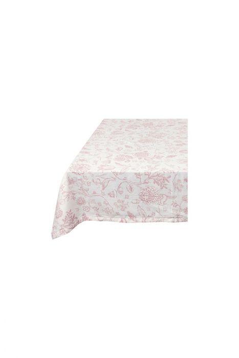 Etonnant Spring To Life Table Cloth White Pink