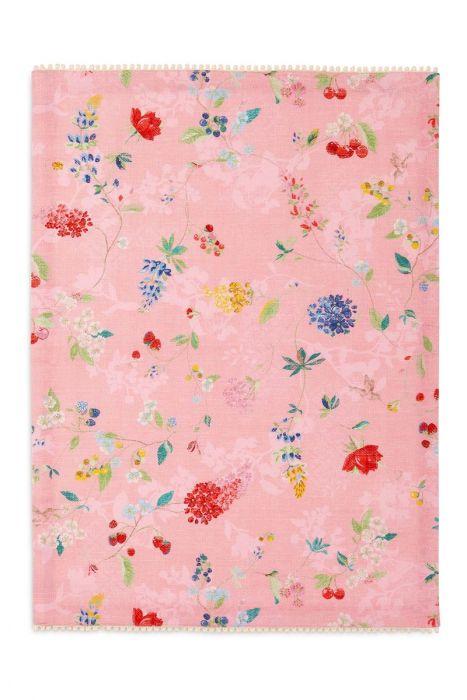 floral tea towel hummingbirds pink pip studio the official website