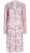 Nightdress Split neck Spring to Life Pink