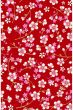 Cherry Blossom behang rood