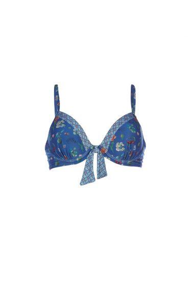 Bikinitop Pearest Pip Mondlichtblau