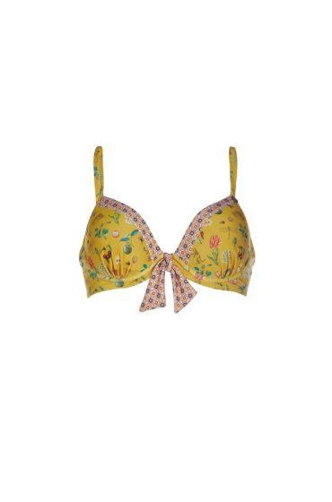 Bikini Top Pearest Pip Yellow