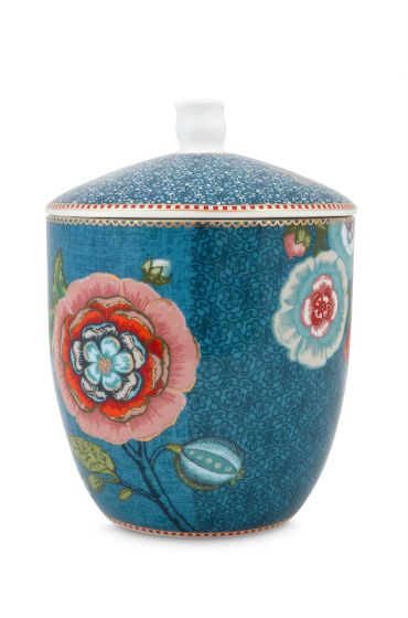 Spring to Life Storage Jar Blue