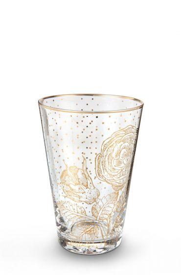Verre à eau Golden dots Royal verrerie
