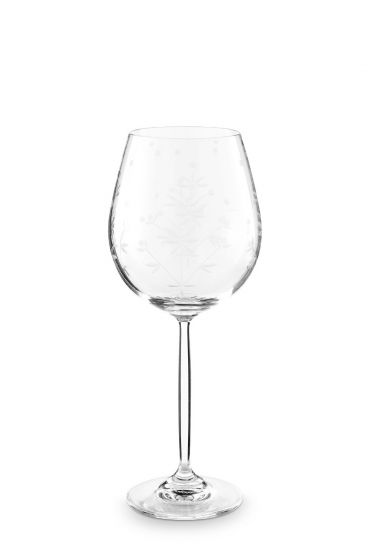 Basics Wine Glass Etching
