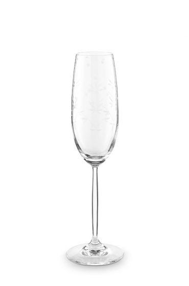 Basics Champagne Flute Etching