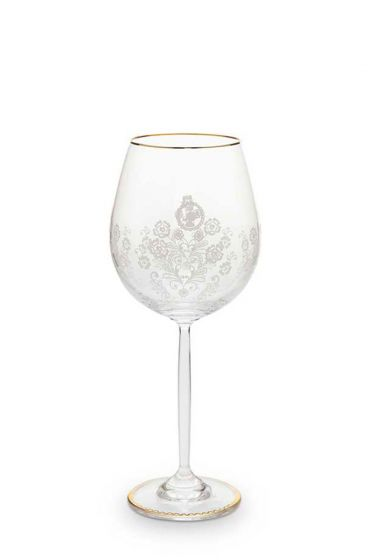 Floral Weinglas