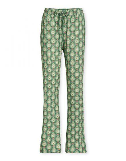 Trousers Long Raindrops Green