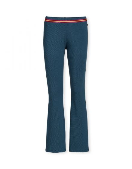 Trousers Long Shiny Stripe Blue