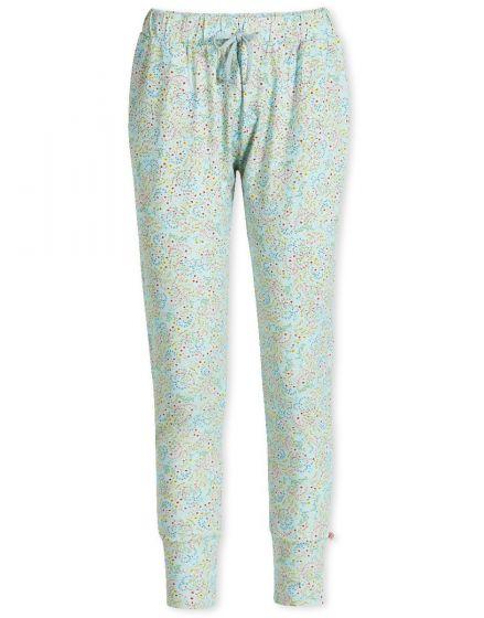 Lange broek Beldi blauw
