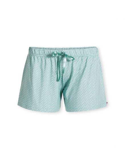 Trousers Short Stitch Blue