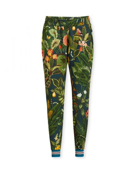 Trousers Long Forest Foliage Large Green